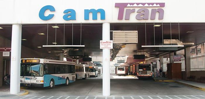 CamTran Transit Center, Locust Street