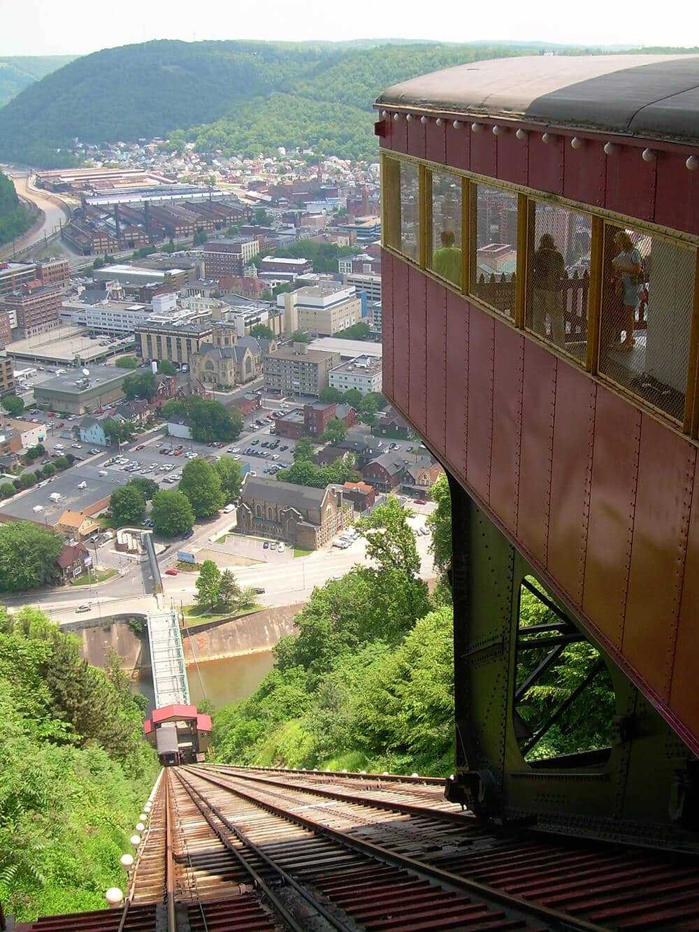 Johnstown Inclined Plane and City
